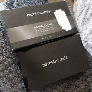 New in box bareMinerals Translucent powder duo